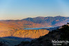 LAKE CHELAN FROM McNEIL CANYON AT SUNRISE