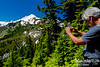 RON GETS ONE LAST PHOTO OF MOUNT BAKER