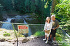 RON AND SUE AT NOOKSACK FALLS
