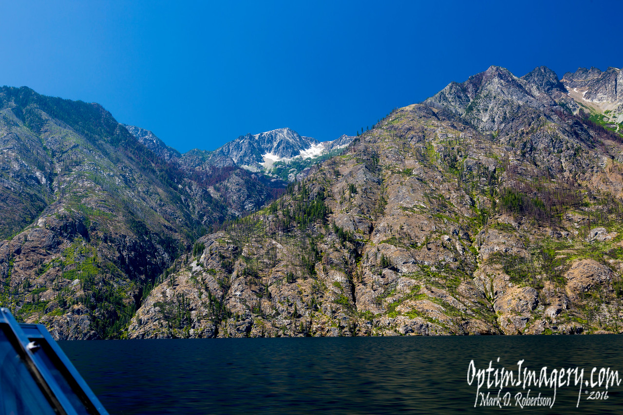 Just some of the scenery along Lake Chelan.