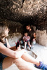 INSIDE AN ANCIENT NATURAL ANCESTRAL PEUBLO DWELLING