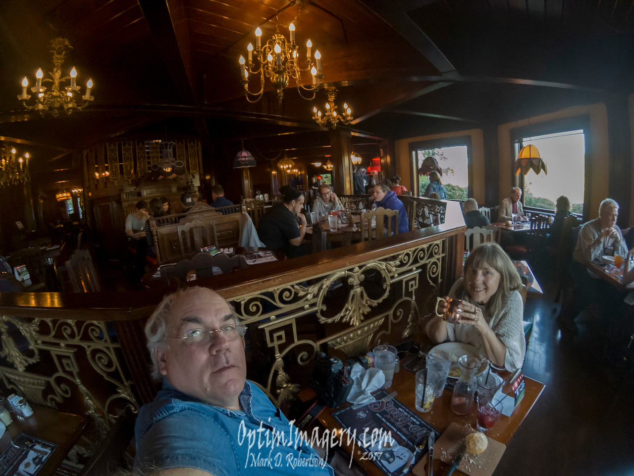 GOPRO SELFIE AT OLD SPAGHETTI FACTORY