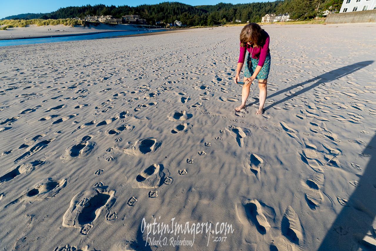 MANTA RAY SPERM ON THE BEACH
