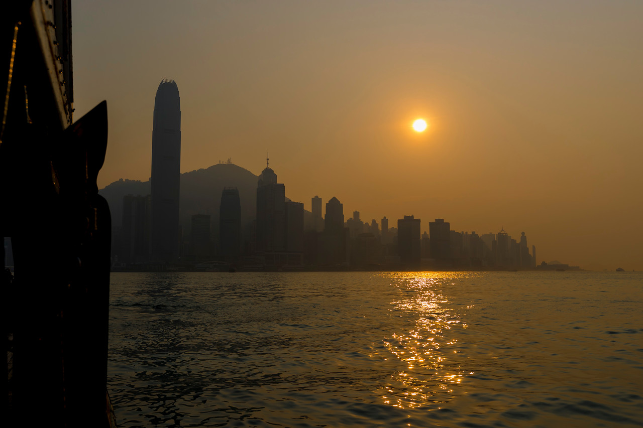 RETURN TO KOWLOON BY FERRY