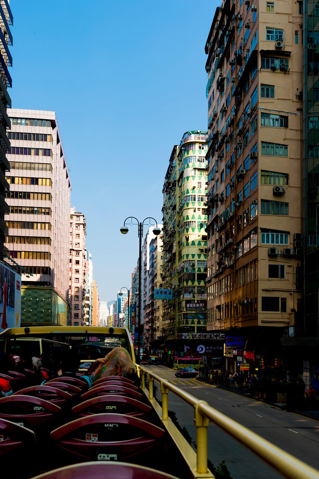 KOWLOON FROM THE BIG BUS