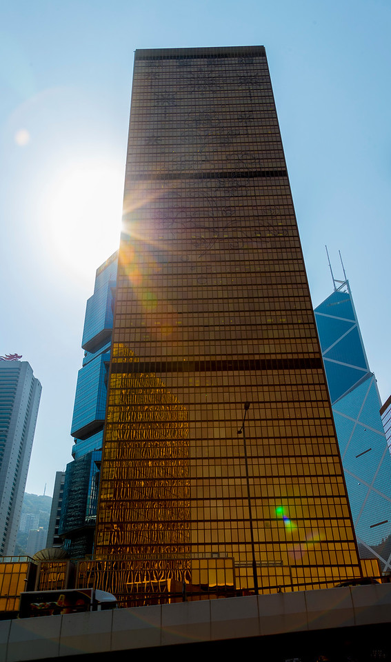 Hong Kong has more skyscrapers than does any other city in the world. TWICE as many as the number two city (New York).