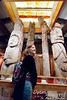While I remember seeing totem poles in Indian curio stores when I was a kid in Oklahoma and New Mexico, historically the crafting and display of totem poles were limited to tribes in the Pacific Northwest, from modern day WA, on up the Canadian coast and into Alaska.  The Totem Heritage Center  has one of the largest collections of unrestored  totem poles from history.  They seem to place a very high priority on preservation, as opposed to the crafting of new ones (as seems to be the emphasis in WA and some other places).