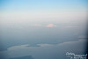 Mount Baker, just barely over the border in WA.  As you can see, sunset is approaching AND we are approaching the area most heavily affected by the fires.