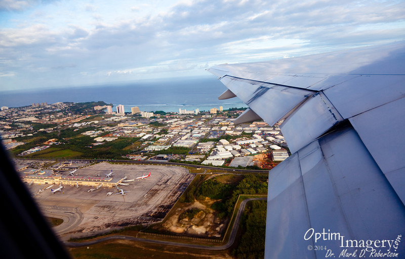 Lift off from Guam!