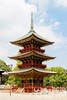 NARITASAN SHINSHOJI TEMPLE:  Three story pagoda