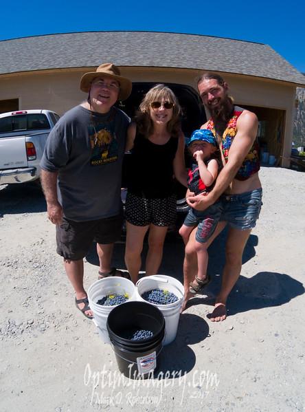 Yep: We did get a few berries.  I believe that Bri took the photo. Thanks, Bri!