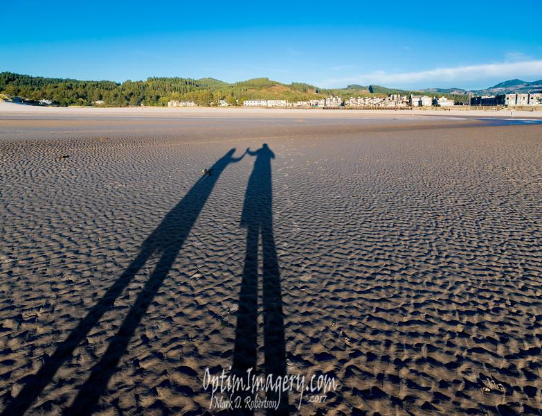 BEV AND ME, CANNON BEACH, WA