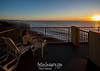 Getting ready for another spectacular sunset from our private balcony.