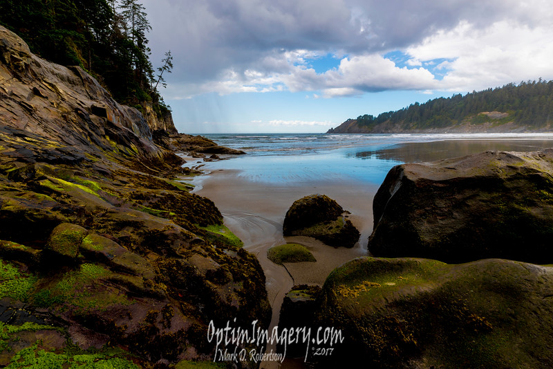 SMUGGLER'S COVE FROM SHORT SAND BEACH