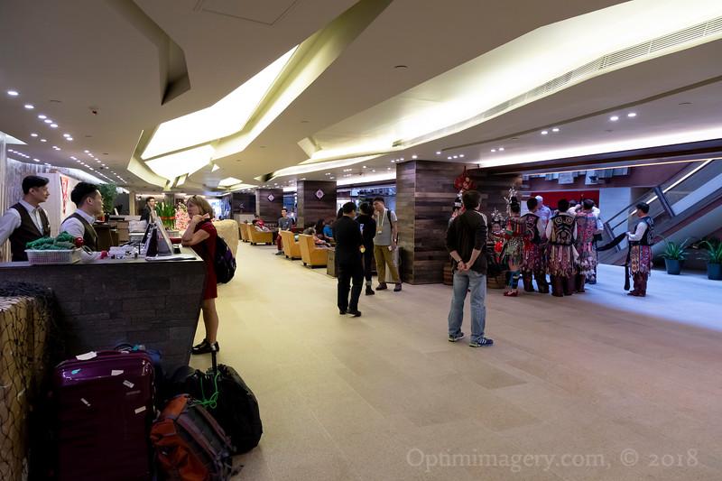 LOBBY: SALISBURY ROAD YMCA, KOWLOON, HONG KONG