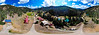 DRONE-GENERATED 360-DEGREE PANORAMA OF VALLEY OF THE PINES