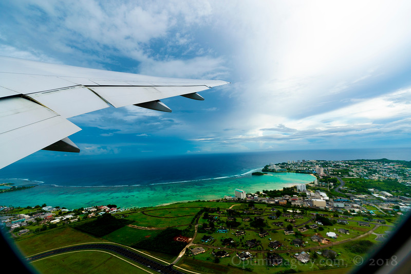 LIFT OFF FROM GUAM