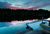 BEFORE SUNRISE AT THE INNCHANTER, HOT SPRINGS COVE, B.C.