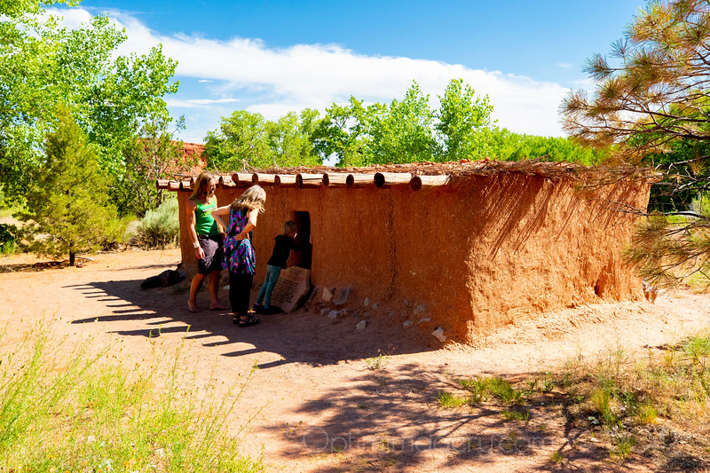 ON THE WAY TO CHACO: PUEBLO OF JEMEZ WELCOME CENTER