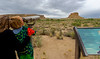 CHACO CANYON: LOOKING AT FAJADA BUTTE