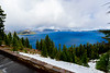 CRATER LAKE FROM THE LODGE