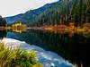 FALL REFLECTIONS OF JOLANDA LAKE