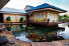 There are 6 restaurants within the resort.  We did not eat at this one, but I walked past it every day on the way to the education seminar.  This is Imari Japanese Restaurant.  I liked the koi pool.