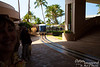 And now, our arrival at Waikoloa Hilton, where a totally in-resort train picks us up to take us to our complex!