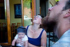 "Not sure what they are looking at.  Awaiting dinner at Big Fat Fish Company in Bellingham.  Quite nice place to eat.<br /> <br /> <a href=""http://www.bigfatfishco.com/"">http://www.bigfatfishco.com/</a>"