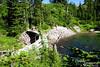 Heather Meadows Dam on Bagley Creek.