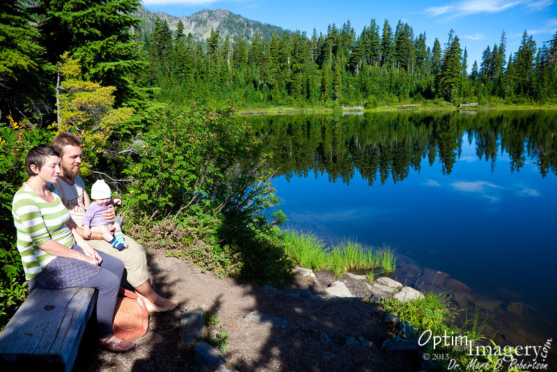 """Yup.  Still at Picture Lake.  It's not my fault that they named it wrong.  It should be """"Pictures Lake."""""""