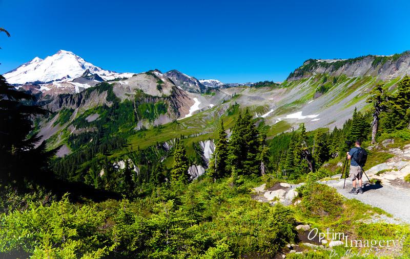 Mount Baker from Artist Ridge.