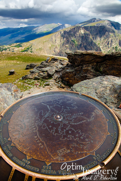 The marker tells how far it is to some other gems of our National Park System.