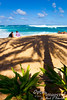 "Heleiwa.  This is the area often called the ""Banzai Pipeline"" because of the waves breaking in curls perfect for surfing."