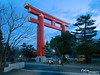 This large gate is at the entrance of the portion of Kyoto containing most of the larger museums and other such cultural attractions.