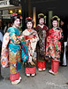 Kyoto is THE center of the Geisha custom, and Gion is THE Geisha district of Kyoto.
