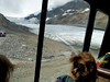 And HERE is the view from a snow bus as we slowly head down the hill toward Athabasca Glacier!