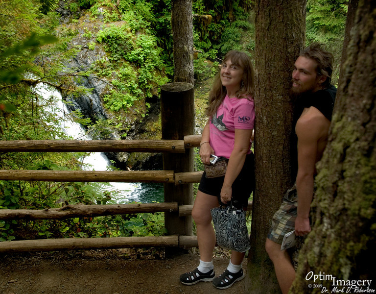 Lower Wallace Falls.
