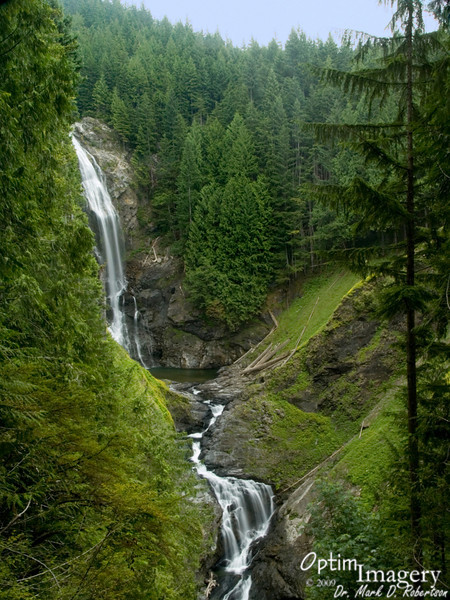 Middle Wallace Falls.