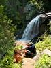 Upper Cedar Falls in the background.