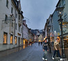After our day at Schwangau, upon returning to Fussen by bus, we found a charming village to stroll as night fell.
