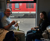 German wine on Eurorail. What could be better?