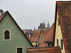 RED ROOFS OF ROTHENBERG ob der TAUBER
