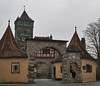 VILLAGE GATE:  ROTHENBURG ob der TAUBER