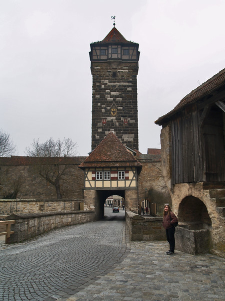 GATE AND WATCH TOWER