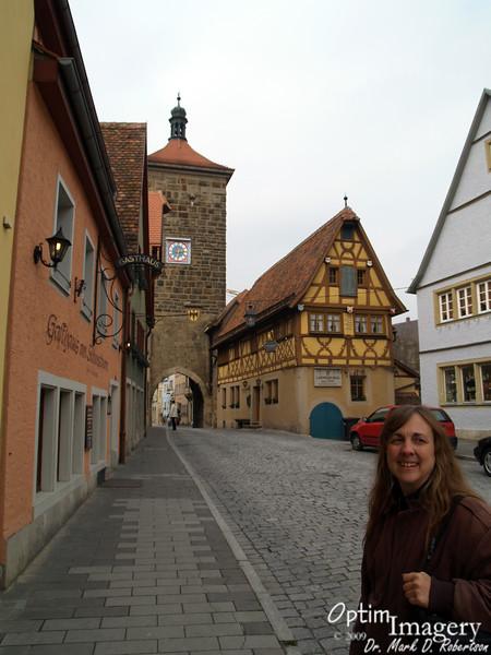 WALKING THE MAIN STREET, ROTHENBURG ob der TAUBER