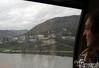 The Rhine in the rain.