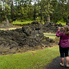 We drove south from Hilo, toward the southeast coast and toward Hawaii Volcanoes National Park.  Just south of the town of Pahoa we came upon Lava Trees State Park.