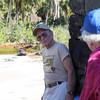 Now, you can review our sojourn through Pu`uhonua o Hônaunau in this 2-minute video.  We'll also walk by a pond, which was used by the ancients to farm fish.  You will also get a better view of the outriggers in the boat house.<br /> <br /> Music by Kevin MacLeod (incometech.com).
