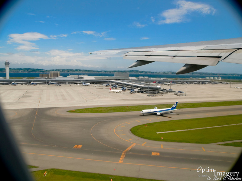 """After a short lay over, departing Centrair Airport in Nagoya (see """"Map This"""")."""